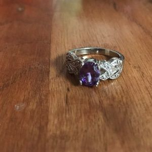 JIC Jewelry - Purple costume Ring